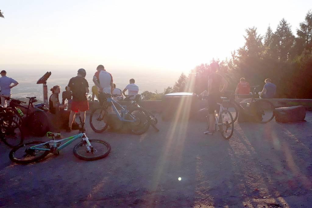 Mountainbike Tour Aussichtspunkt