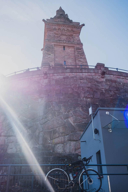 Rennrad Kyffhäuserdenkmal
