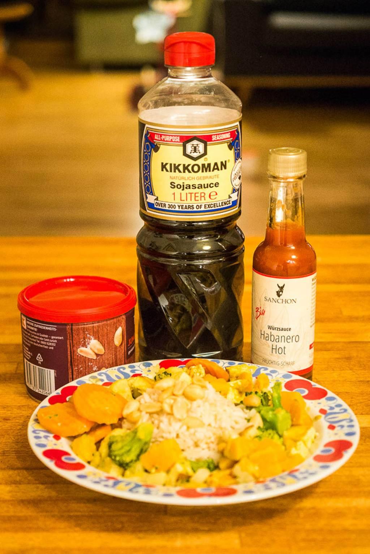 Kokos-Gemüse-Curry