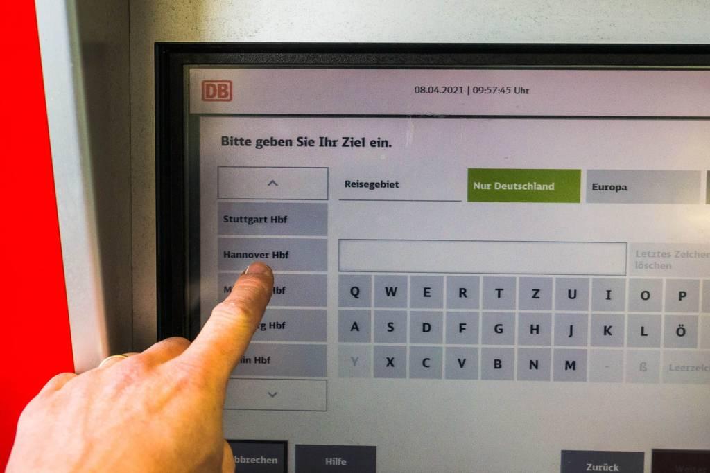 Deutsche Bahn Fahrkartenautomat