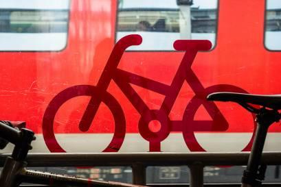 Fahrradwagen Symbol Regionalexpress