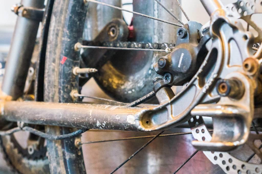 Lackschäden Fahrrad