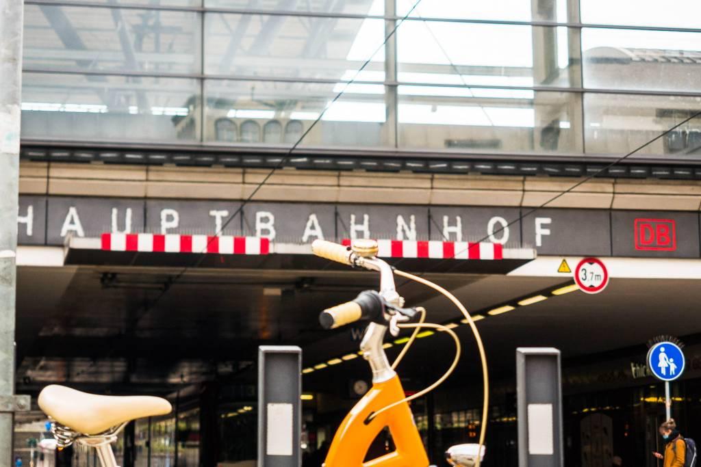 Faltrad Bahnhof