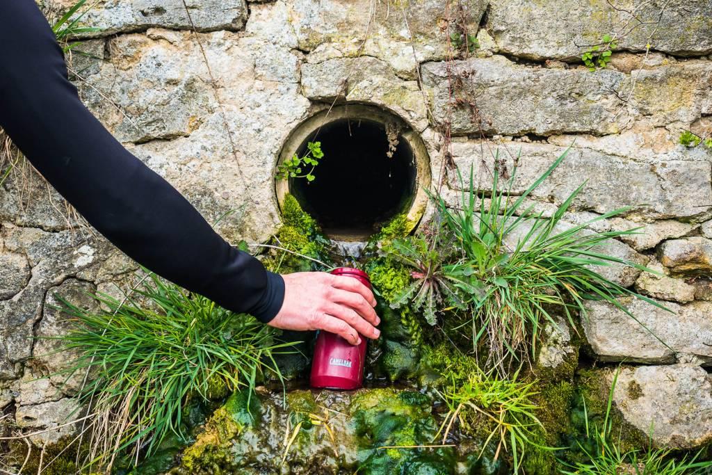 Trinkwasser Radtour Quelle
