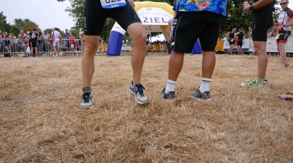Leipzig Triathlon Ziel