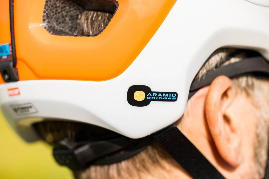 Aramid Logo POC Tectal Race Spin NFC Helm