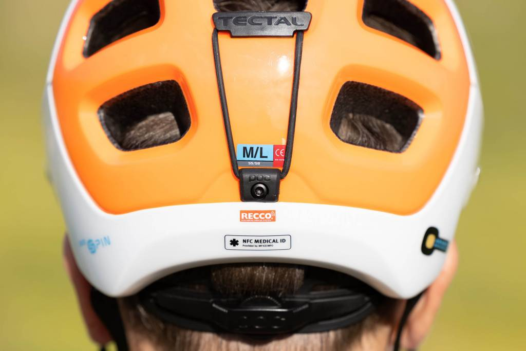 Goggle Strap POC Tectal Race Spin NFC Helm
