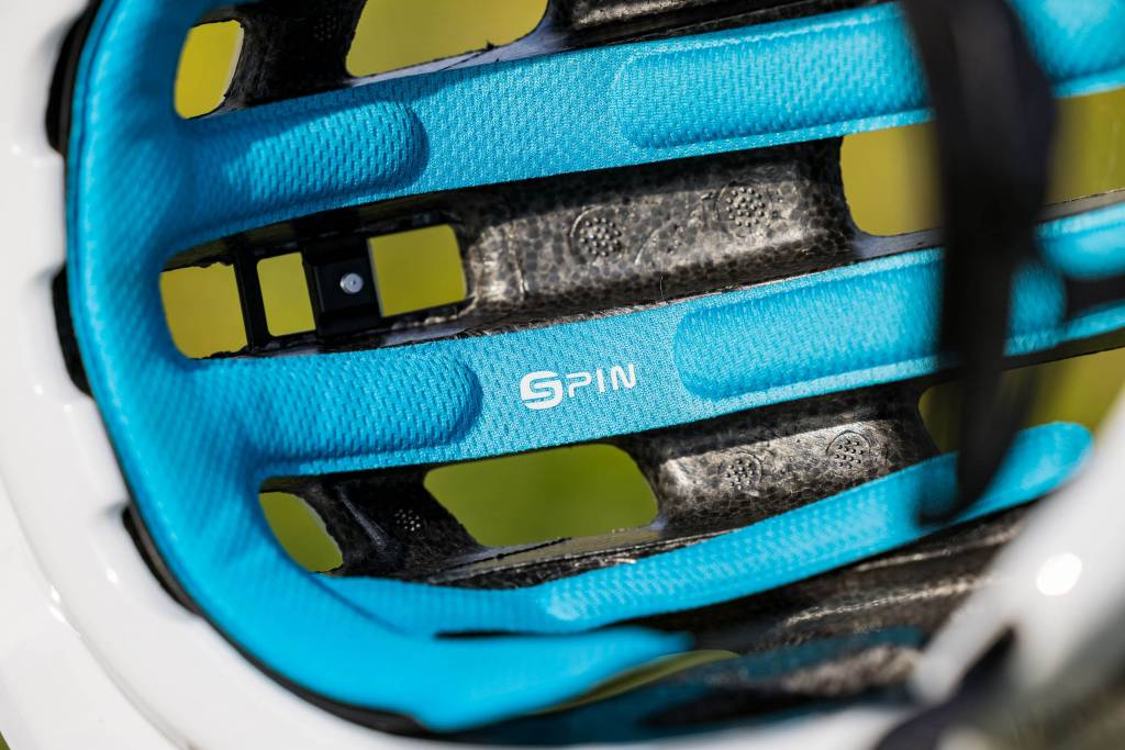 SPIN Pads POC Tectal Race Spin NFC Helm