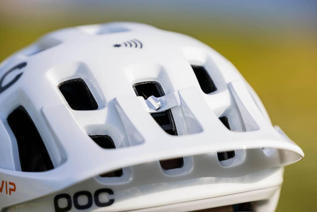 Visier POC Tectal Race Spin NFC Helm